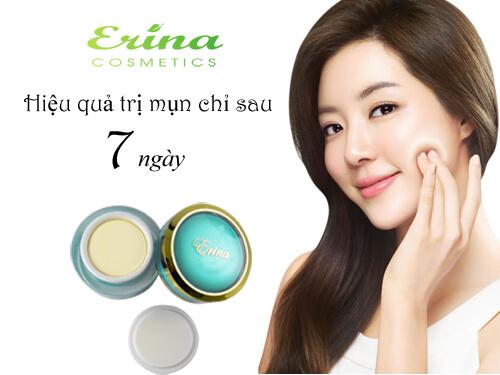 Hướng dẫn chọn loại kem trị mụn erina phù hợp với da và loại mụn của bạn